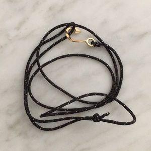 Miansai anchor wrap bracelet